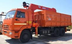 Kanglim KS1256G-II. Самосвал Камаз 65115 с КМУ , 7 000куб. см., 13 300кг., 6x4. Под заказ