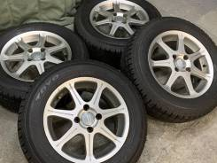 Beo japan R14 4*100 6j et38 + 175/65R14 Bridgestone Blizzak