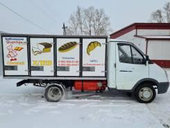 ГАЗ ГАЗель. Продаётся газель Хлебный фургон, 2 200куб. см., 1 000кг., 4x2