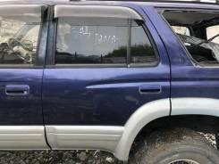 Дверь задняя левая синяя(8L7) Toyota Hilux Surf KZN185 132000km