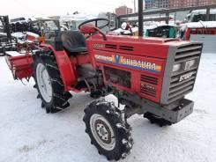 Shibaura. Мини-трактор с фрезой shibaura SP1540 с псм, 15,00л.с.