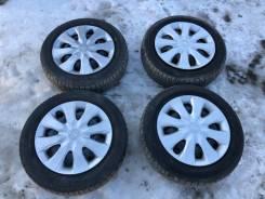 """Комплект колёс Dunlop Enasave EC300 155/65R14 (N-wgn, N-Box и тд). 4.5x14"""" 4x100.00 ET40 ЦО 56,1мм."""