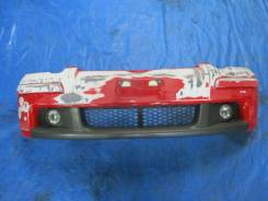 Бампер RS Рестайл Vitz Витц 10-13-15куз 02-05г Yaris Красный col.3P0