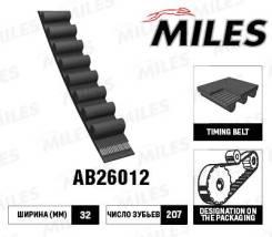 Ремень ГРМ 207x32 AB26012 miles AB26012 в наличии