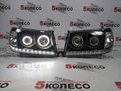 Фары Toyota Land Cruiser 100 2005-2007 LED Темные