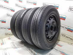 Летние колеса на дисках Nissan 165/80 - R14 LT Bridgestone Ecopia R680