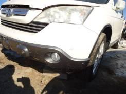 Бампер передний белый nh624p Honda Crv RE4 K24A 2008