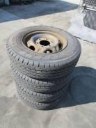 Комплект летних колес на штамповках 195 80 15 Б/П по РФ M-68