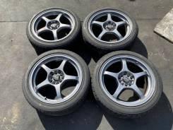 Комплект летних колес на литье 215 45 17 Б/П по РФ DE-34