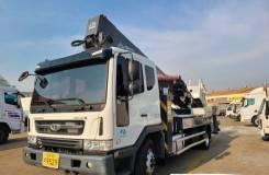 Hansin. Автовышка 450S 2019 года на базе Daewoo Novus, 6 000куб. см., 45,00м. Под заказ