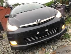 Бампер рестайл передний+губа черная(209) Toyota Wish ZNE14 86000km
