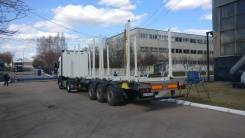ТЗА. Сортиментовоз -588511, 3 оси SAF, импортная сталь, облегченный, 39 000кг.
