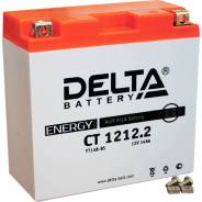 "Мото аккумулятор ""DELTA MOTO"" CT 1212.1 AGM YT12B-BS (12Ач п/п) Delta"