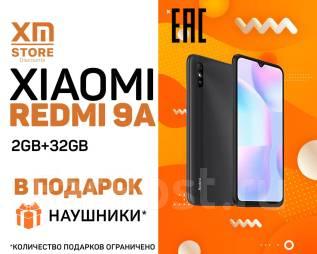 Xiaomi Redmi 9A. Новый, 32 Гб, Черный, 3G, 4G LTE, Dual-SIM