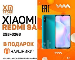 Xiaomi Redmi 9A. Новый, 32 Гб, Зеленый, 3G, 4G LTE, Dual-SIM
