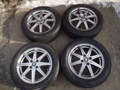 175/65 R15 Dunlop DSX-2 2014г на литье 4*100 TRG
