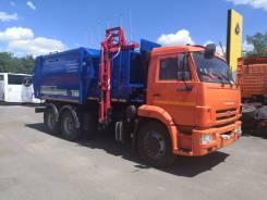 Рарз. Боковая загрузка МК-4552-08 на шасси Камаз-65115 (б/к кузов) мусоровоз