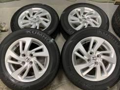 Honda Оригинал R15 4*100 6j et50 + 195/65R15 Dunlop Enasave RV505 Japa
