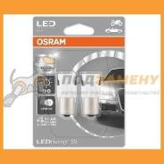 Лампа LED P21W BA15s standard cool white 6000K 2шт 12V 7458CW-02B 4052899520875 Osram / 7458CW02B