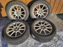 Комплект литых колес 205/55R-16 с зимней резиной Bridgestone VRX