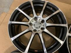 Weds Leonis R18 5*114.3 8j + 225/45R18 Dunlop Winter Maxx WM01 Japan