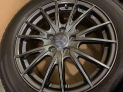 Weds Velva R17 5*114.3 7j et47 + 215/55R17 Dunlop Enasave RV504