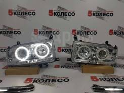 Фары Toyota Land Cruiser (80) 1990-1997 год комплект LED светлые.