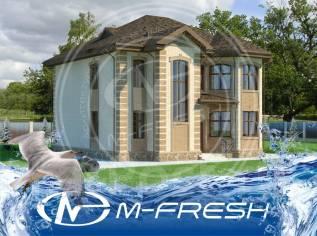 M-fresh Berloga (Проект солидного коттеджа с большими комнатами! ). 300-400 кв. м., 2 этажа, 5 комнат, кирпич