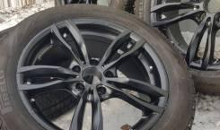 Фирменные 18-е диски ABE Shakai MAK на отличной зиме 245/50R18 Pirelli