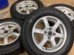 Feid R14 4*100 5.5j et38 + 185/70R14 Dunlop Enasave ec204 Japan 2018