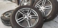 Фирменные 16-е диски Sport Technic на зиме 205/60R16 Bridgestone