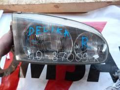 Фара правая Mitsubishi Delica №110-87009