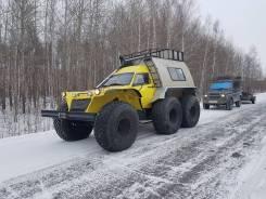 Трэкол. Вездеход снегоболотоход на шинах низкого давления трэкол, 2 200куб. см.