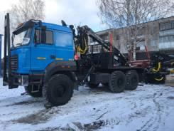 Урал 4320. ГМ Лесовоз с манипулятор кму гидроманипулятор прицеп., 6x6