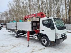 Mitsubishi Fuso Canter. Самогруз Mitsubishi Fuso 2017г. в Новосибирске, 4 900куб. см., 5 000кг., 4x2