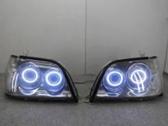 Тюненая передняя оптика Toyota Crown Athlete jzs17