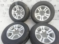 Отличный комплект литых дисков на шинах Bridgestone 215/65R15