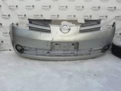 Передний бампер Nissan Note