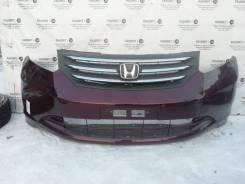 Передний бампер в сборе с решеткой Honda Freed