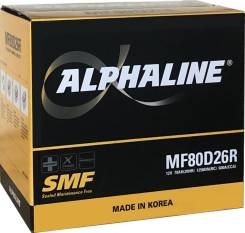 Alphaline. 70А.ч., Прямая (правое), производство Корея