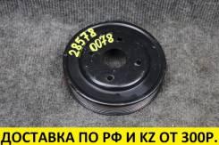 Шкив помпы Infiniti FX45 S50 VK45DE контрактный, оригинальный 21051AR700