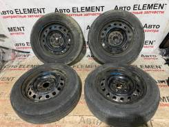 165/70R14 Dunlop Enasave EC203 лето + штамповки 4*100