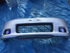 Бампер передний Spada в сборе серебро (NH623M) Honda Stepwgn RF6