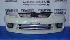 Бампер передний на Nissan Wingroad Y11
