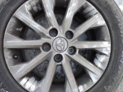 Продам колёса диски Тойота 16х6,5J, резина лето Triangle Sport ATP