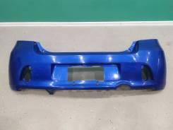 Бампер задний Toyota Vitz RS (XP90) 2005-2007г. Оригинал Цвет: Синий