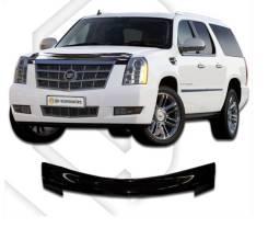 Дефлектор капота. Cadillac Escalade, GMT926, GMT946, GMT936, GMT900 LZ1, L92, L9H, LFA, L94. Под заказ