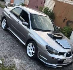 Накладка на капот. Subaru Impreza. Под заказ