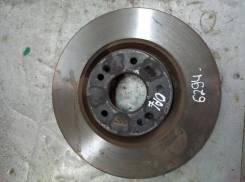 Диск тормозной вентилируемый Kia Optima 4 [517122T000], передний 517122T000