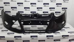 Бампер передний Ford Focus 3 чёрный